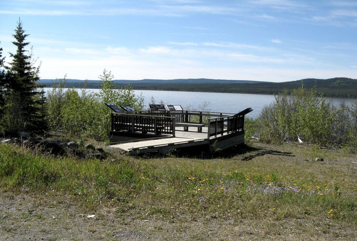 Photo from Teslin Lake
