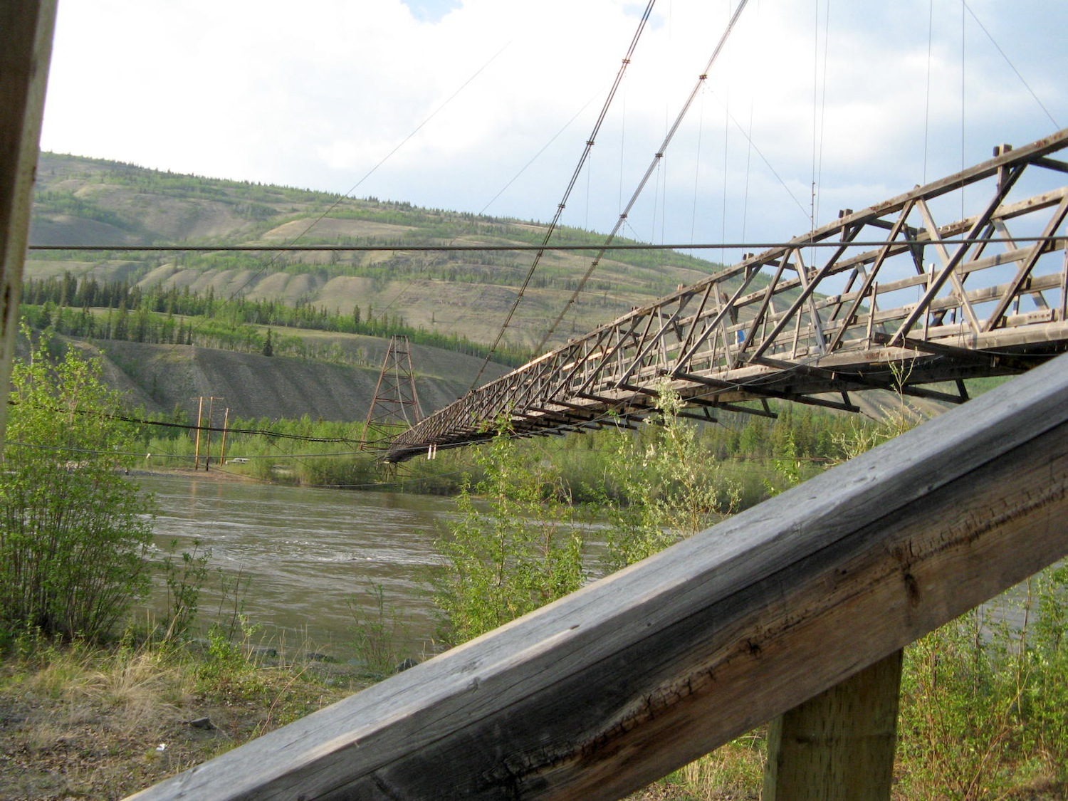 Canol Road Suspension Bridge