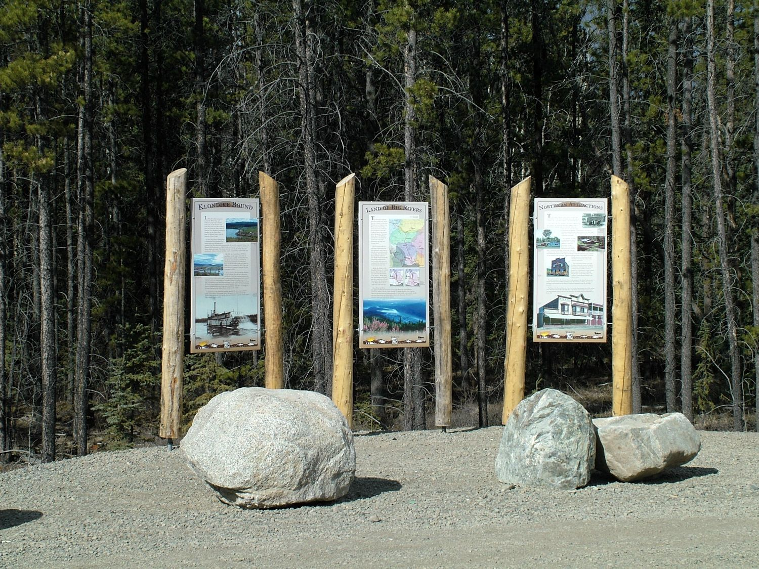Junction of North Klondike Highway and Alaska Highway
