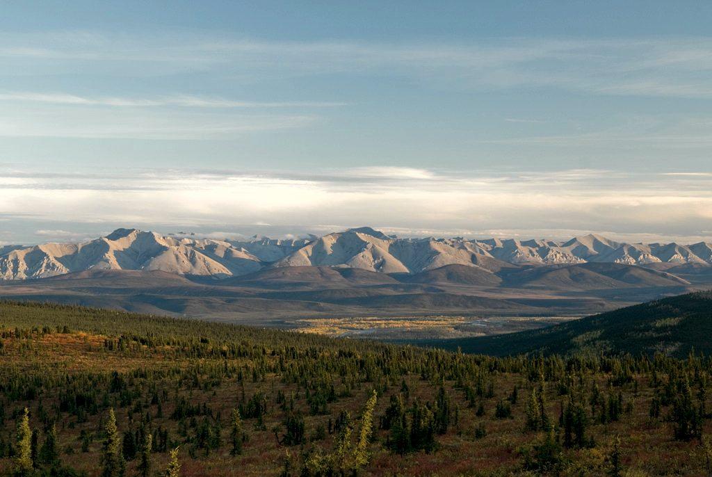 Yukon/NWT Border